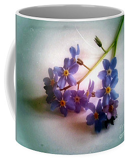 Myosotis  Forget Me Not Coffee Mug