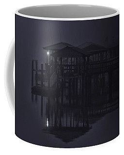 Coffee Mug featuring the photograph Mysterious Morning by Laura Ragland