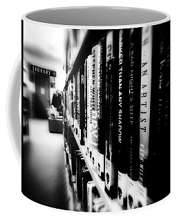Coffee Mug featuring the photograph Mystery At The Library by Lucinda Walter