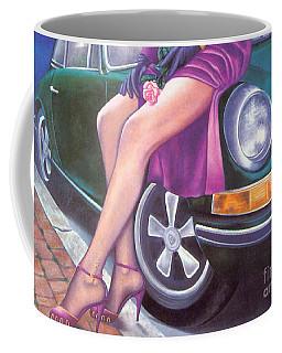 Mystery On Peter's Porsche Coffee Mug