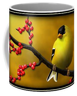 N. American Male Goldfinch Coffee Mug