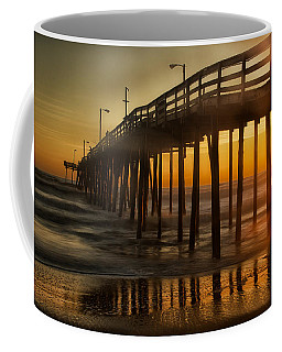 Nags Head Fishing Pier Coffee Mug