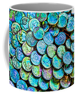 Coffee Mug featuring the photograph Roofing Nails by Vizual Studio