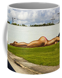 Naked In The Park Coffee Mug