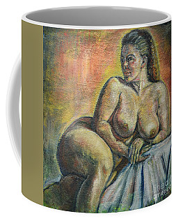 Naked Paris Coffee Mug