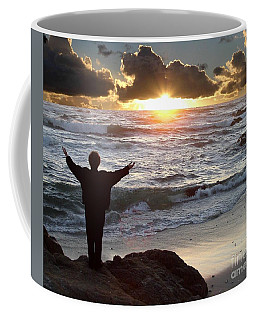 Namaste The Day Coffee Mug