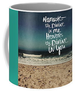 Namaste Waves  Coffee Mug