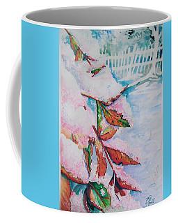Nandina In Snow Coffee Mug