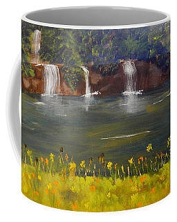 Nandroy Falls In Queensland Coffee Mug