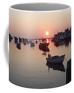 Nantucket Sunrise 1 Coffee Mug by Robert Nickologianis