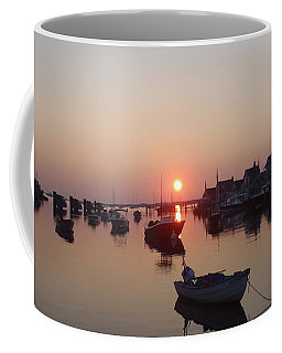 Nantucket Sunrise Coffee Mug by Robert Nickologianis