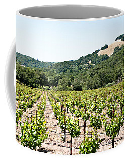 Napa Vineyard With Hills Coffee Mug