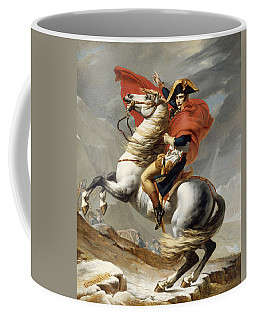 Napoleon Bonaparte On Horseback Coffee Mug