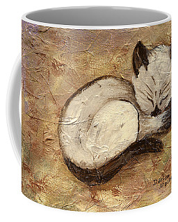 Napping Kitty Coffee Mug