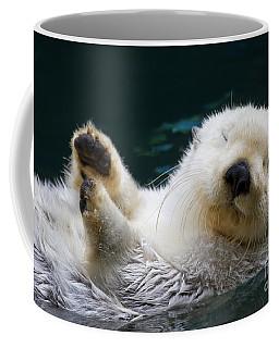 Napping On The Water Coffee Mug