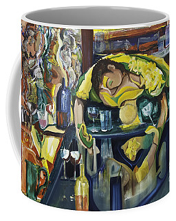Narcisisstic Wine Bar Experience - After Caravaggio Coffee Mug