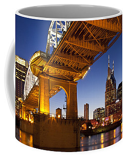 Coffee Mug featuring the photograph Nashville Tennessee by Brian Jannsen