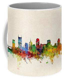 Nashville Skyline Coffee Mugs