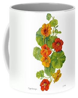 Nasturtiums - Tropaeolum Majus  Coffee Mug