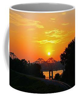 Natchez Sunset Coffee Mug