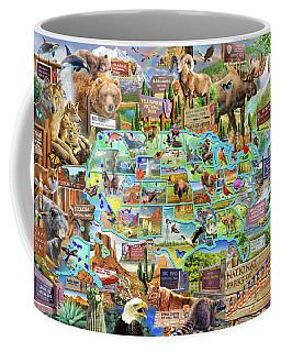 National Parks Of America Coffee Mug