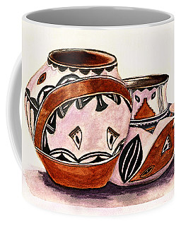 Native American Pottery Coffee Mug