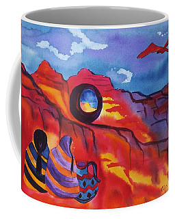 Native Women At Window Rock Coffee Mug