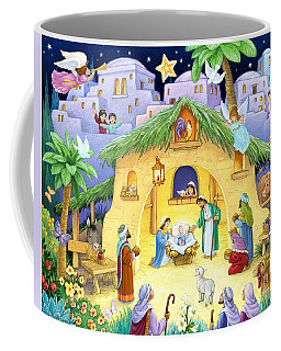 Nativity For Children Coffee Mug