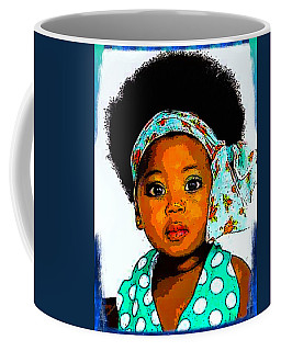 Natural Baby Girl Coffee Mug