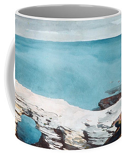 Coffee Mug featuring the painting Natural Bridge Bermuda by Celestial Images