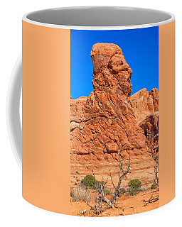 Coffee Mug featuring the photograph Natural Sculpture by John M Bailey