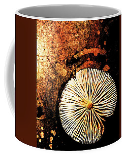 Coffee Mug featuring the digital art Nature Abstract 14 by Maria Huntley