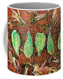 Coffee Mug featuring the digital art Nature Abstract 16 by Maria Huntley