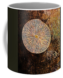 Coffee Mug featuring the digital art Nature Abstract 22 by Maria Huntley