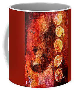 Coffee Mug featuring the digital art Nature Abstract 3 by Maria Huntley