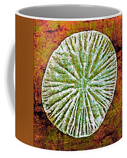 Coffee Mug featuring the digital art Nature Abstract 5 by Maria Huntley