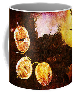 Coffee Mug featuring the digital art Nature Abstract 6 by Maria Huntley