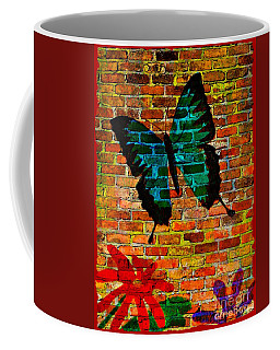 Nature On The Wall Coffee Mug by Leanne Seymour