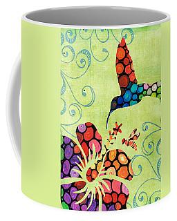 Nature's Harmony 2 - Hummingbird Art By Sharon Cummings Coffee Mug