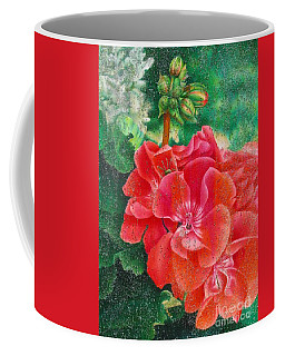 Coffee Mug featuring the painting Nature's Jewels by Pamela Clements