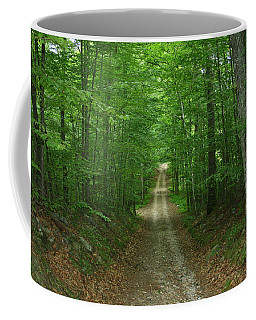 Nature's Way At James L. Goodwin State Forest  Coffee Mug by Neal Eslinger