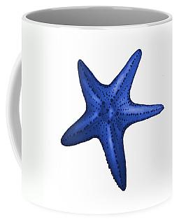 Nautical Blue Starfish Coffee Mug