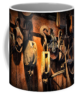 Nautical - Boat - Block And Tackle  Coffee Mug