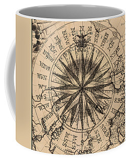 Coffee Mug featuring the painting Nautical II by James Christopher Hill