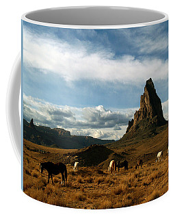 Navajo Horses At El Capitan Coffee Mug