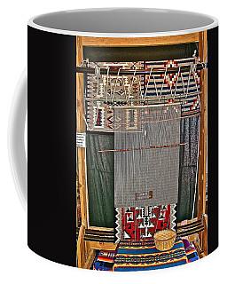 Navajo Loom Inside Desert Watchtower On South Rim Of Grand Canyon National Park-arizona Coffee Mug