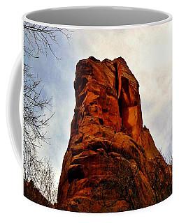 Ancient Face Navajo Sandstone Kanarraville Utah Coffee Mug
