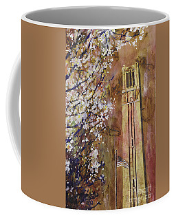 Ncsu Bell Tower Coffee Mug by Ryan Fox