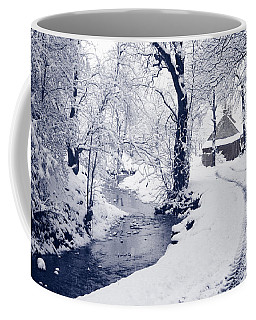 Coffee Mug featuring the photograph Nearly Home by Liz Leyden