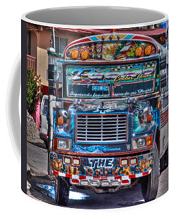 Neat Panamanian Graffiti Bus  Coffee Mug by Eti Reid